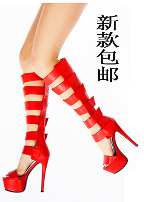 Package mail thin strip/high fashion fine 41 - size 43 yards night bar high performance female cool boots If M smiling store