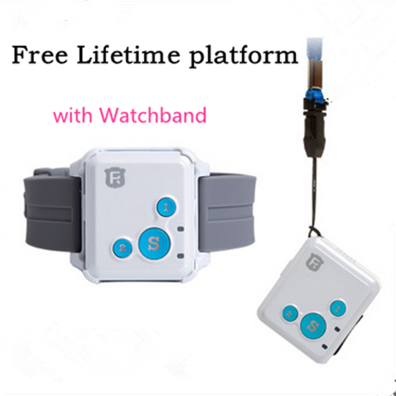 RF-V16 Mini GSM GPRS GPS Tracker SOS Communicator for Kids Child Elderly Personal lifetime web APP Tracking Two-way Talk RF-V18(China (Mainland))