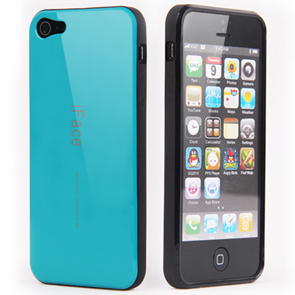 10PCS Free shipping New arrival korea style iface case for iphone 5 cell phone case for iphone5 Wholesale dropship