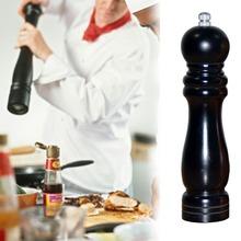 Classical Wooden Oak Pepper Spice Salt Corn Mill Grinder Muller 6Inch Kitchen Accessories Wooden Pepper Grinder
