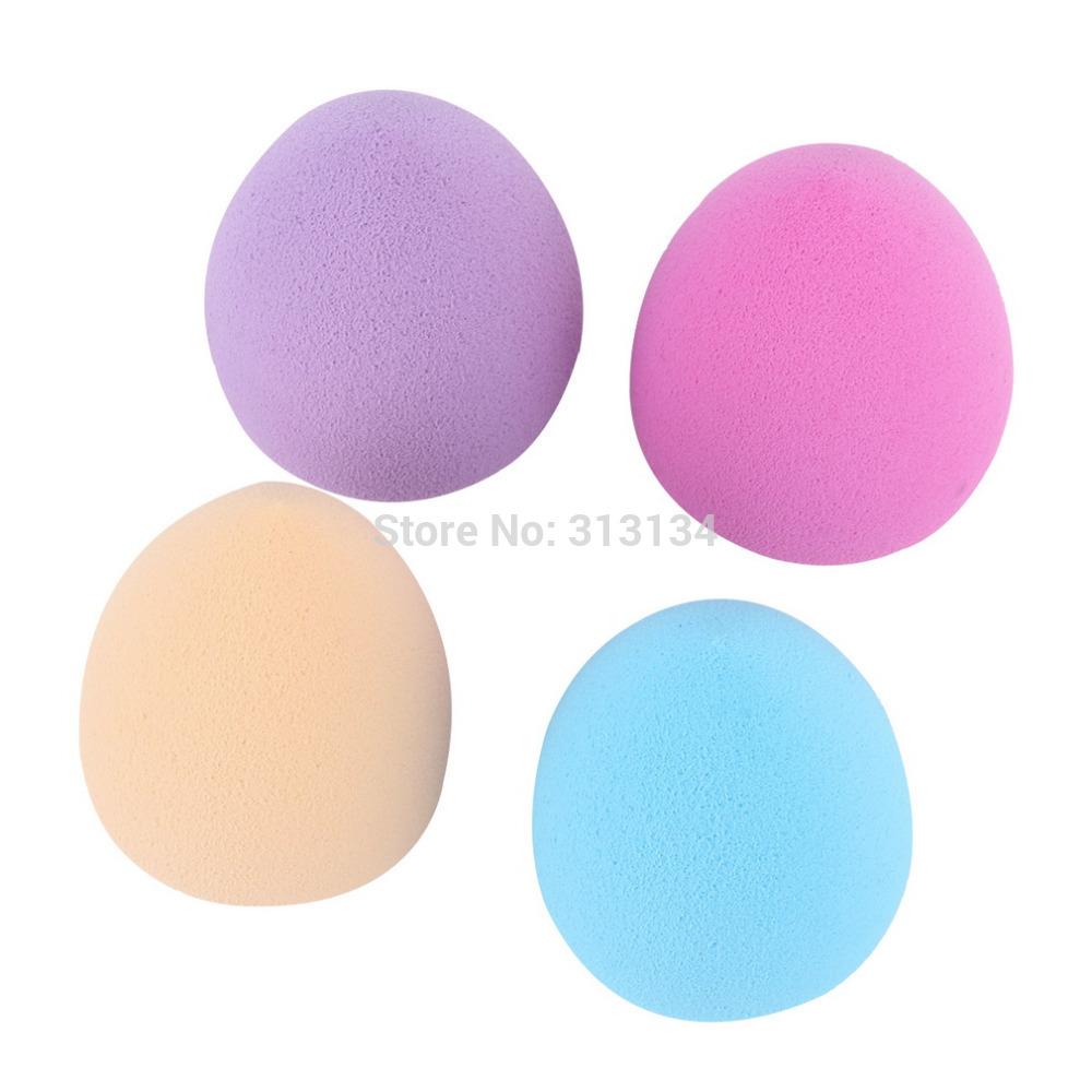 1 pc aleatoriamente cor fundação maquiagem esponja Blending Puff Flawless pó suave cosméticos maquiagem ferramenta