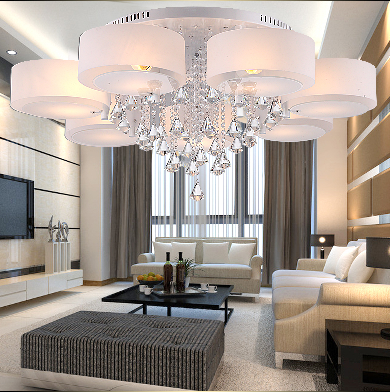 Buy Modern Minimalist Living Room Lamp Crystal Lamp Led Lighting Ceiling From