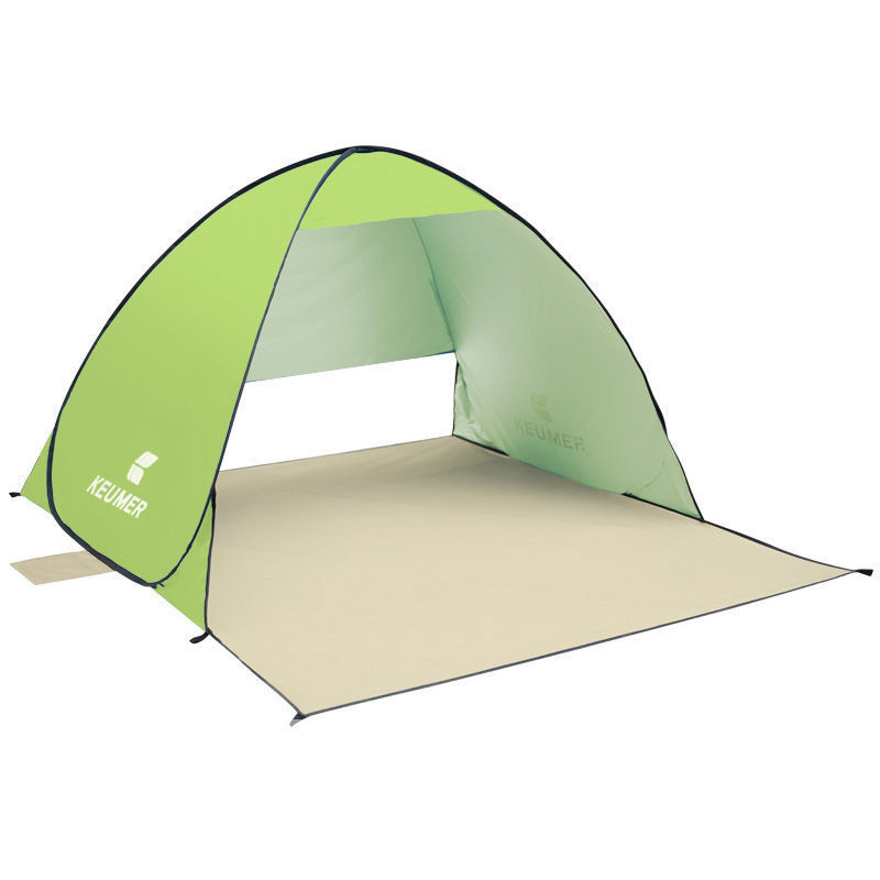 UV Protection Quick Automatic Opening Tent Protable Ultraviolet-proof Beach Fishing Shade Tents Fishing For 2 Persons 1.1KG(China (Mainland))