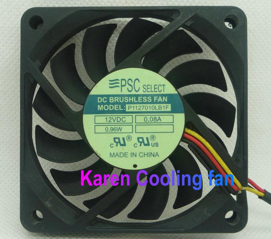 7cm P1127010LB1F 7010 12V 0.08A 3wire Cooling fan<br><br>Aliexpress