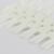 100 Set/ lot 24 Tips Nail Display Chart with Necklace Acrylic Natrual False Tips Faux Ongles Nail Polish Display Tools F0038XX