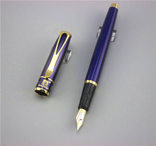 Buy blue KDW fountain pens High metal stainless steel pen school office Stationery writing materials business gift 022 for $3.40 in AliExpress store