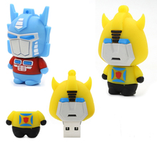 Buy transformers pendrive robot usb flash drive kid flash 4GB 8G 16G 32G 64gb pen drive u disk usb memory drive stick Creative gift for $3.40 in AliExpress store