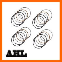 Motorcycle Engine parts NEW High Quality STD Standard Bore Size 49mm piston rings For Kawasaki ZR250 ZR 250 BALIUS 250 1989-1996
