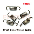 5PCS CG430 BC430 43CC 52CC Brush Grass Cutter Metal Steel Clutch Spring 8 Rolls