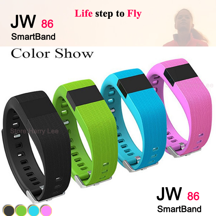 JW86 heart rate Smart Bracelet Wristband watch Bluetooth 4.0 Sport remise iOS Android Smartphone - Yusiness,science and technology store