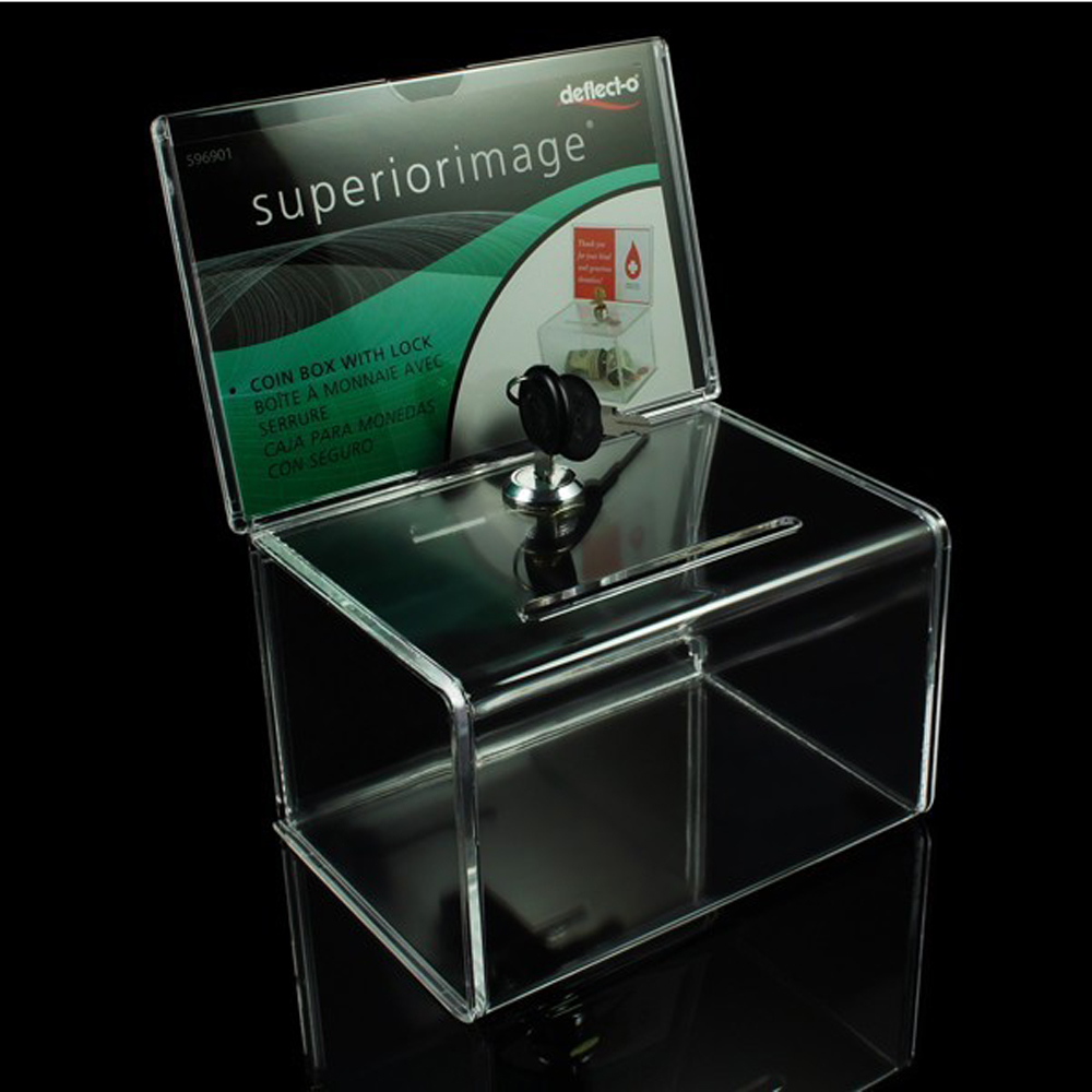ACRYLIC DONATION BOXES: MaxGear is USA brand and registered on Amazon Source One Premium Tall Donation Box for Charity with ″ x ″ Sign Holder Available in Multiple Colors (1 Pack, Clear) by milionerweb.tk $ $ 24 99 Prime. .