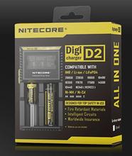 2015 New Nitecore D2 Digcharger Battery Charger LCD Display Nitecore Charger for 26650 18650 18350 16340 14500 10440