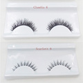 1 pair False Eyelashes Thick Natural Fake Eye Lashes Hand made Makeup Eyelashes Extension Tools