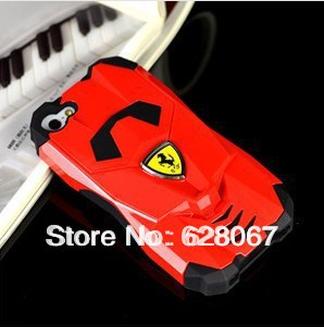 Free shipping for Iphone5 Mobile Shell 3d Sports Car Shell for Apple 5th(China (Mainland))