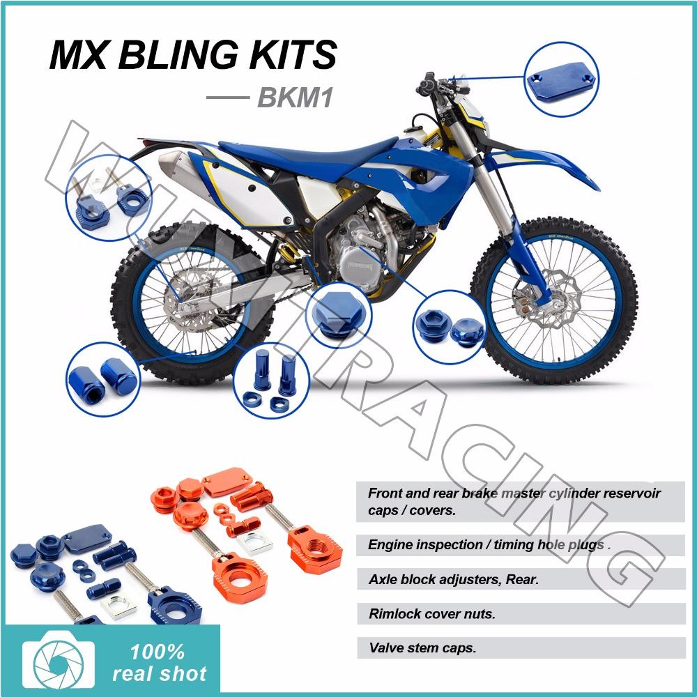 07 08 09 10 11 12 13 14 15 CNC New MX Motocross Bike Bling Kits for KTM 125-505 144 200 350 450 SX SXF 250-530 300 400 500 EXC F(China (Mainland))
