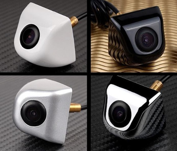 Free Shipping 100% Waterproof 170 Degree Wide Angle Luxury Car parking Rear View Camera LAB-802 CMOS Night Vision(China (Mainland))