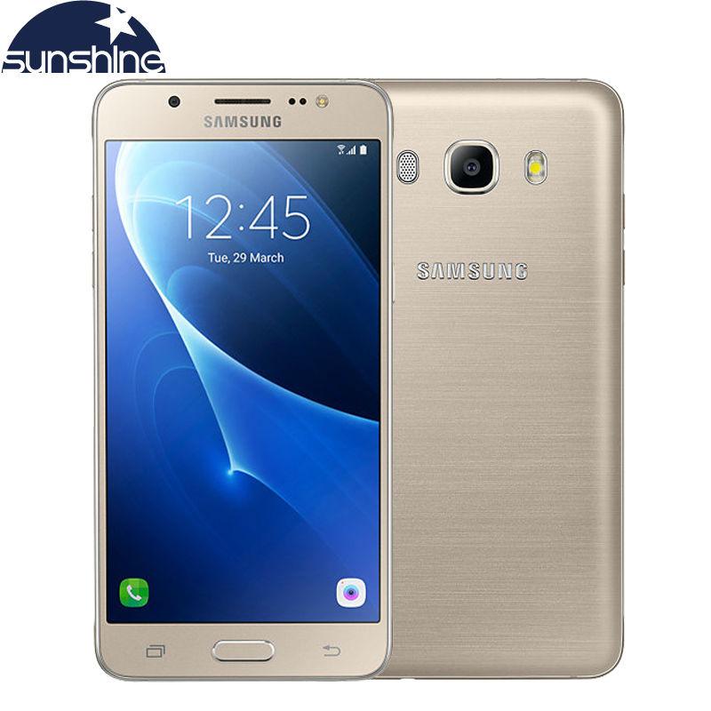 "Original Samsung Galaxy J5 J5108 4G LTE Mobile phone Snapdragon 410 Quad Core Dual SIM Smartphone 5.2"" 13.0MP NFC cell phone(China (Mainland))"