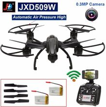 Free Shipping! JXD 509W 6-Axis Gyro Wifi FPV RC Quadcopter RTF w/ 0.3MP Camera Drone+Battery