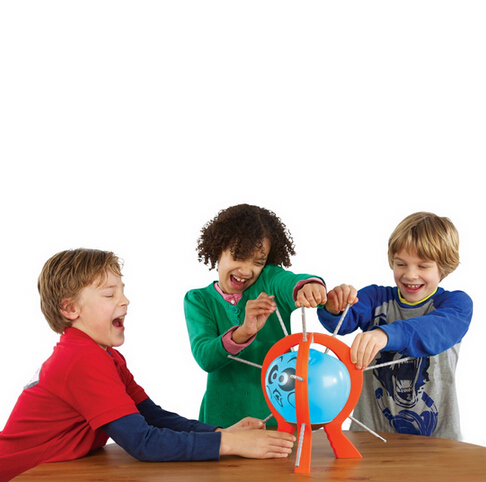 Boom Boom Balloon Poking Game Don't Blow It Kids Children Great Family Fun Toys(China (Mainland))