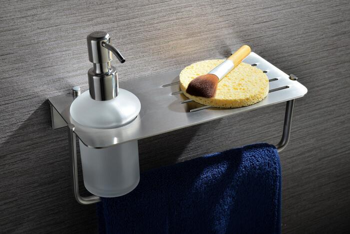Bathroom cup dispenser