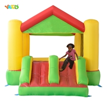 High quality& cheap home use inflatable bouncer jumping slide for sale(China (Mainland))