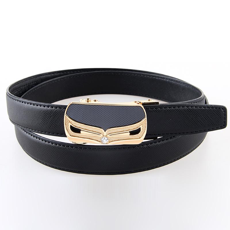 Designer Belts Wild Fashion Classic Women's Genuine Leather Belt Women Fashion Automatic Pin Buckle Belt New Strap 110CM 1LW5(China (Mainland))