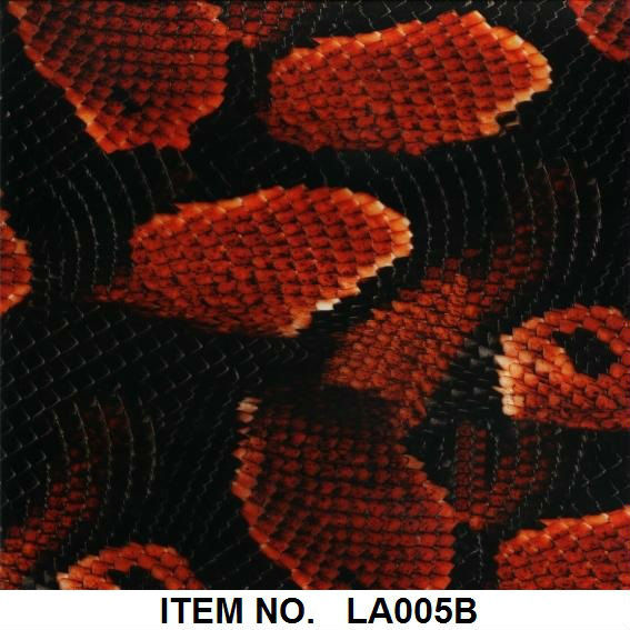 Animal skin PVA Hydrographic film Item NO.LA005B