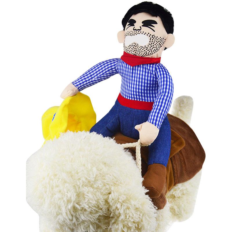 2016 New Arrival Dog Suit Pet Clothes Funny Turn Heads font b Tartan b font Cowboy