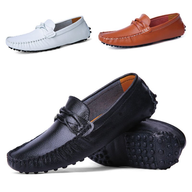 new fashion casual leather driving shoes business s
