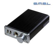 2016 New SMSL sApII Pro 2 CH Big Power Integrated Stereo Headphone Amplifier Headset amp Amplificador de fone de ouvido Black(China (Mainland))