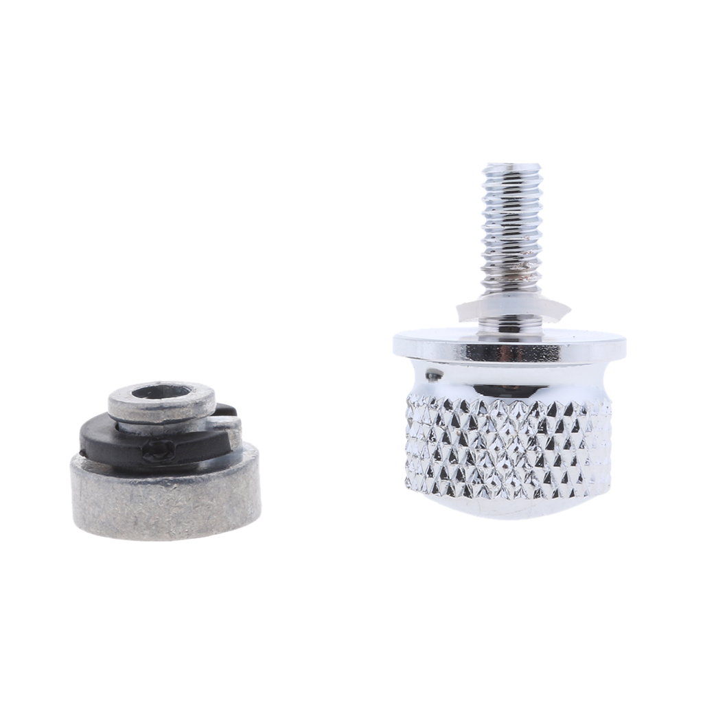 Motorcycle Aluminum Alloy Solo Seat Nut Bolt Mount Screw Kit for Harley Touring Motorcycle Seat Mount Bolt