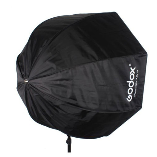 Godox 80cm/31.5in Portable Octagon Flash Softbox Umbrella Brolly Reflector Flash light Softbox for Speedlight Photography