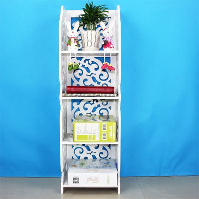 Continental Shelf hollow floor-living room bathroom toilet storage rack shelf shoe rack simple flower bookshelf(China (Mainland))