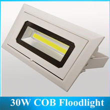new Interior Corner Lights LED 30W COB Clothing Banks Malls Light Projection Lamp Floodlights 6PCS(China (Mainland))