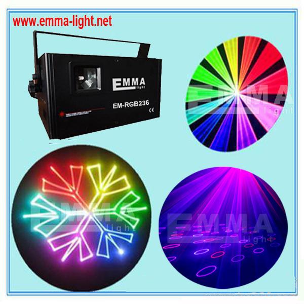 1.2W RGB Animation Laser 1200mW Stage Lightig ILDA 25Kpps DMX control Fast ship DJ(China (Mainland))