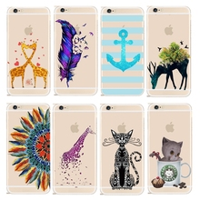 Cartoon Patterns Back PC Hard Transparent Phone Skin Case Cover Apple iPhone 4 4S SE 5 5S 5G 5C 6 6S 6Plus - Shenzhen RuiCai Group CO.,LTD store