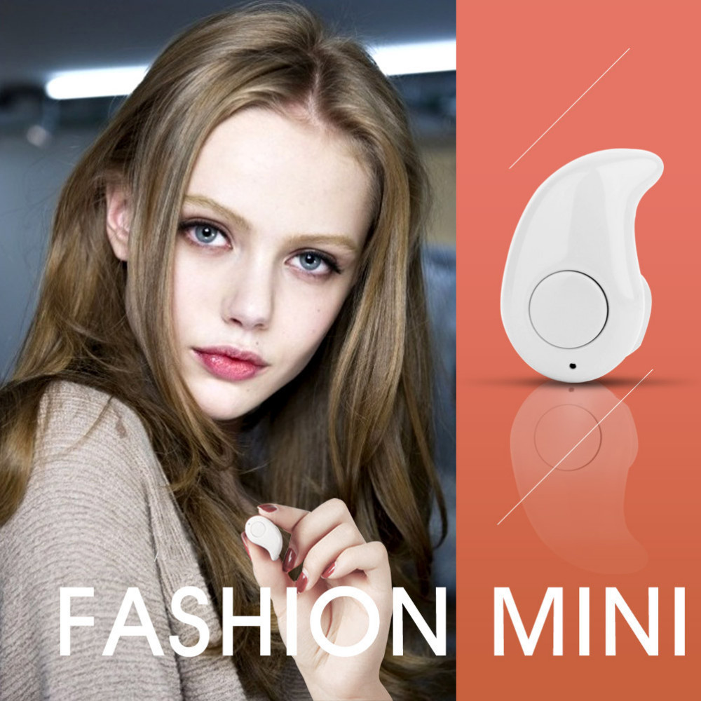 TTLIFE Mini Portable Wireless Headphone Bluetooth 4.0 Earphone Invisible Earbuds  Noise Cancelling Headset with Mic For iPhone 7