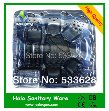 7801 Portable whirlpool bathtub outdoor spa pool make in China free shipping(China (Mainland))