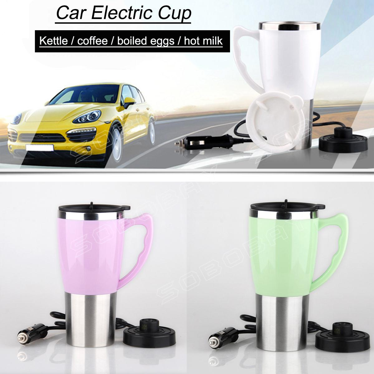 Upscale Gift Cup Double Stainless Steel Vacuum Insulation Cup Car Electric Cup(China (Mainland))