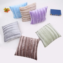 New Fashion Decorative Cushion Covers Waist Pillow Case Minimalist Pillowslip Cotton Plaid Housse De Coussin Chat Pillowcase
