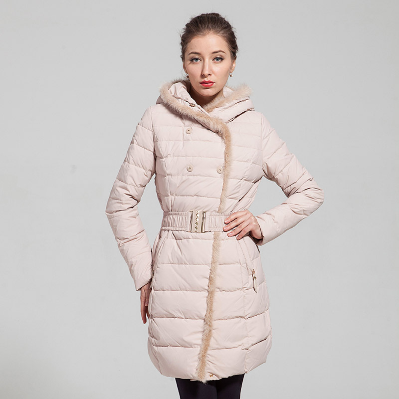 Гаджет  The new 2014 thickening in fashionable dress long cultivate one