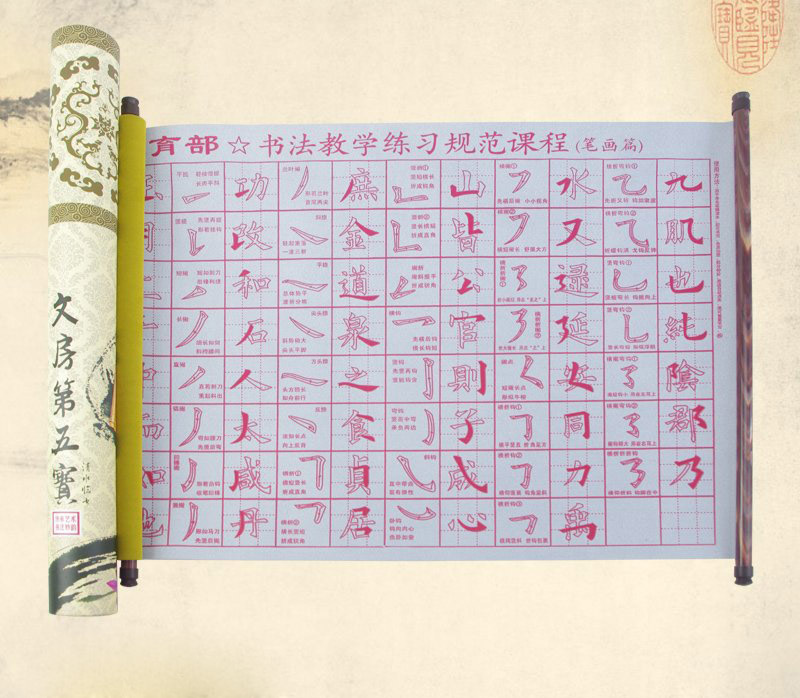 To Learn Chinese Word For Calligraphy Water Writing Paper
