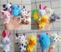 50% shipping off  Christmas gifts 100 pcs/lot  Animal Finger Puppets finger doll finger puppet