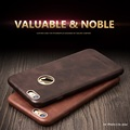 QIALINO For iphone 6 6s case Calf Skin Leather case for iphone6 6s plus Unique Design