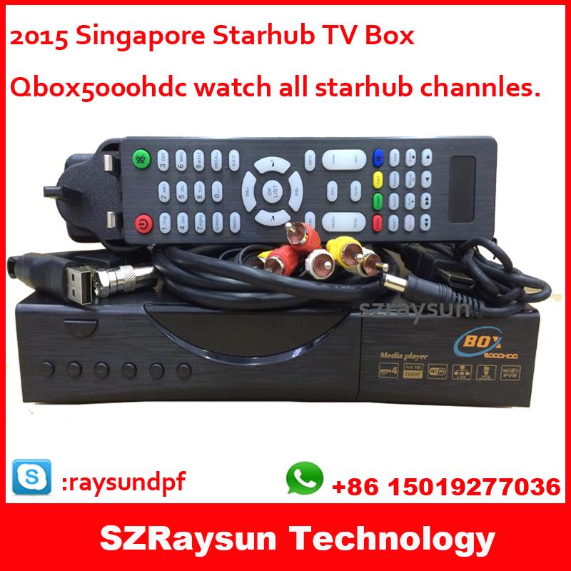 [해외]4K c808 2015 최신 싱가포르 스타 허브 (StarHub) HD TV 셋..
