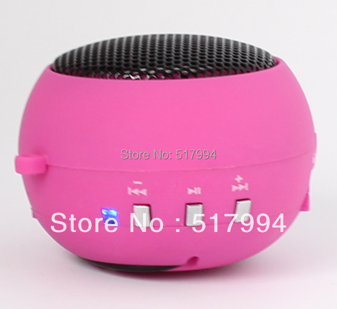 2012 new high end 5 1 function MP3 Speaker FM radio Card reader Sound card portable mini speaker - Wireless Confort Unlimited Fun store
