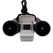 2015 Newest Binocular 4 in 1 Digital Binoculars Camera telescope 300k/25mm objective lens binoculars combind with Digital Camera(China (Mainland))