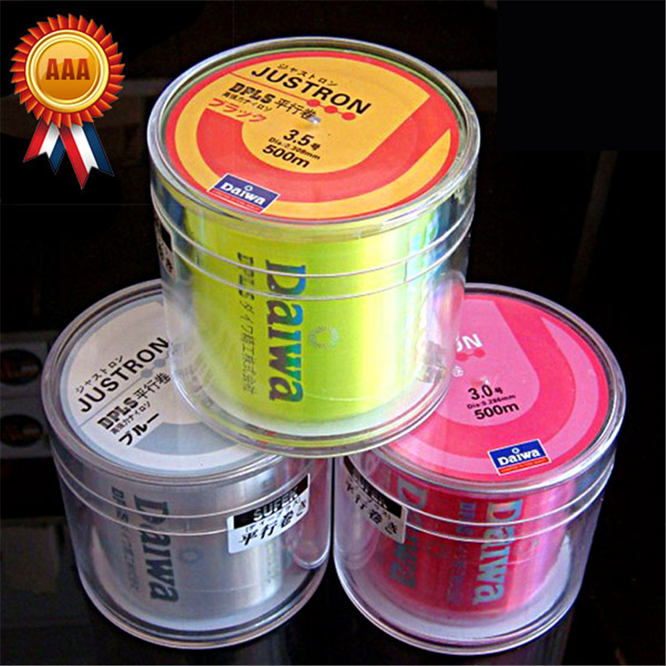 Golden Supplier! 500M Monofilament Nylon Fishing Line Janpan Lure Carp Fishing Wire Cable 8 25LB Strong Soft Round(China (Mainland))