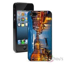 Grand Canal in Venice Protector back skins mobile cellphone cases for iphone 4/4s 5/5s 5c SE 6/6s plus ipod touch 4/5/6