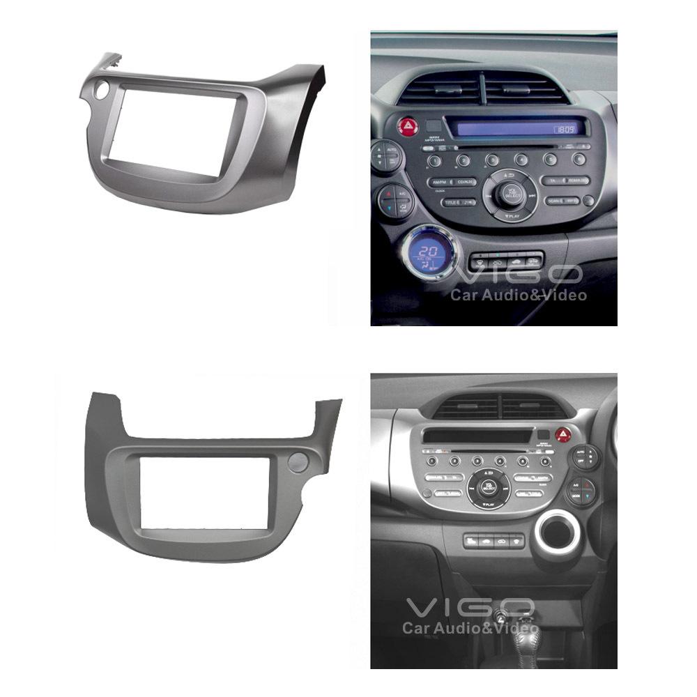 Filename car audio facia for honda fit jazz stereo dash kit installation trim fascia face plate surround jpg